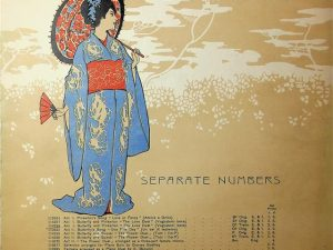 Madama Butterfly, An Opera In Three Acts