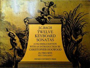 J.C.Bach Twelve Keyboard Sonatas Set 2