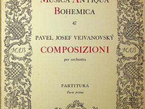 Musica Antiqua Bohemica, Composizioni Per Orchestra