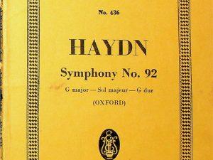 Haydn, Symphony No. 92 in G Major
