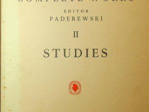 Chopin Complete Works 2, Studies