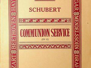 Schubert, Communion Service (In G)
