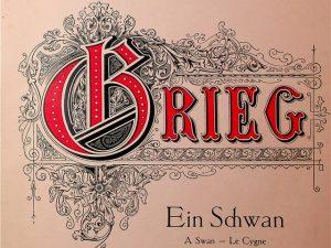 Grieg, A Swan